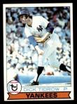 1979 Topps #89  Dick Tidrow  Front Thumbnail