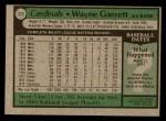 1979 Topps #319  Wayne Garrett  Back Thumbnail