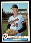 1979 Topps #27  Dave Goltz  Front Thumbnail