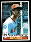 1979 Topps #125  Rick Burleson  Front Thumbnail
