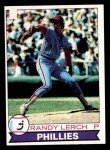 1979 Topps #52  Randy Lerch  Front Thumbnail