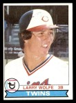 1979 Topps #137  Larry Wolfe  Front Thumbnail