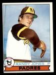 1979 Topps #194  Randy Jones  Front Thumbnail