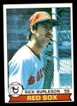 1979 Topps #125  Rick Burleson  Front Thumbnail