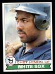 1979 Topps #333  Chet Lemon  Front Thumbnail