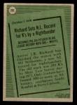 1979 Topps #203   -  J.R. Richard Record Breaker Back Thumbnail