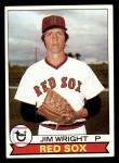 1979 Topps #349  Jim Wright  Front Thumbnail