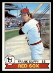 1979 Topps #106  Frank Duffy  Front Thumbnail