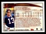 1998 Topps #23  Danny Kanell  Back Thumbnail