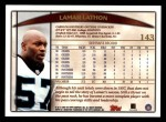1998 Topps #143  Lamar Lathon  Back Thumbnail
