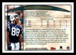 1998 Topps #183  Marvin Harrison  Back Thumbnail