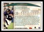 1998 Topps #91  Jay Graham  Back Thumbnail