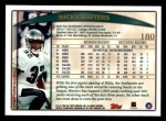 1998 Topps #180  Ricky Watters  Back Thumbnail