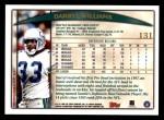 1998 Topps #131  Darryl Williams  Back Thumbnail