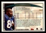 1998 Topps #182  Lonnie Johnson  Back Thumbnail