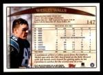 1998 Topps #147  Wesley Walls  Back Thumbnail