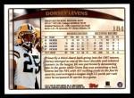 1998 Topps #184  Dorsey Levens  Back Thumbnail