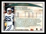 1998 Topps #153  Ken Dilger  Back Thumbnail