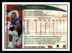 1998 Topps #64 UER Tony Martin  Back Thumbnail