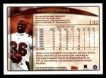 1998 Topps #132  Merton Hanks  Back Thumbnail