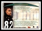1998 Topps #122  Yancey Thigpen  Back Thumbnail