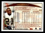 1998 Topps #69  Eric Metcalf  Back Thumbnail