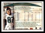 1998 Topps #73  Keenan McCardell  Back Thumbnail