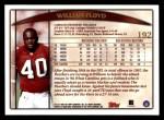 1998 Topps #192  William Floyd  Back Thumbnail