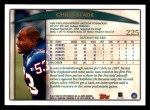 1998 Topps #225  Chris Slade  Back Thumbnail