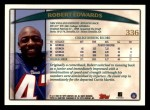 1998 Topps #336  Robert Edwards  Back Thumbnail