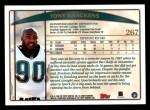 1998 Topps #267  Tony Brackens  Back Thumbnail