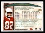 1998 Topps #208  Kevin Williams  Back Thumbnail
