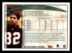 1998 Topps #211  Tony McGee  Back Thumbnail