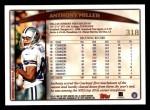 1998 Topps #318  Anthony Miller  Back Thumbnail