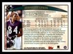 1998 Topps #207  Jermaine Lewis  Back Thumbnail