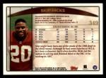 1998 Topps #349  Skip Hicks  Back Thumbnail