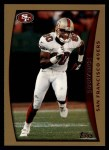 1998 Topps #250  Jerry Rice  Front Thumbnail
