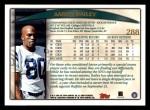 1998 Topps #288  Aaron Bailey  Back Thumbnail