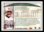 1998 Topps #323  Rodney Thomas  Back Thumbnail