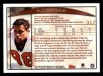 1998 Topps #317  O.J. Santiago  Back Thumbnail