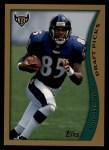 1998 Topps #358  Pat Johnson  Front Thumbnail