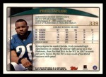 1998 Topps #339  Fred Taylor  Back Thumbnail