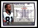 1999 Topps #28  Rocket Ismail  Back Thumbnail