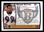 1999 Topps #97  Michael McCrary  Back Thumbnail