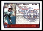 1999 Topps #21  Derrick Mason  Back Thumbnail