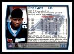 1999 Topps #89  Eric Davis  Back Thumbnail