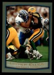 1999 Topps #57  Luther Elliss  Front Thumbnail