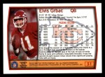 1999 Topps #51  Elvis Grbac  Back Thumbnail