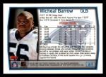 1999 Topps #61  Micheal Barrow  Back Thumbnail