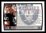 1999 Topps #22  Jon Ritchie  Back Thumbnail